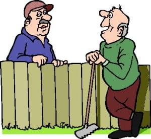 Inrichting van de tuin