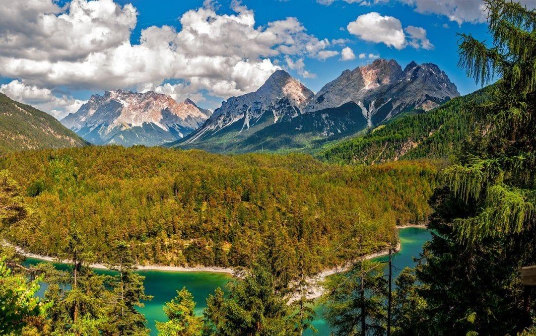 Oostenrijk bergen Zomer
