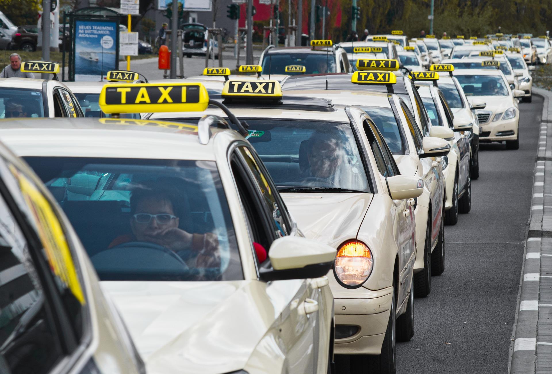 rij taxi's